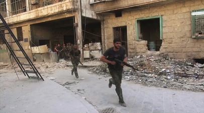 Цель всё ближе: сирийская армия наступает на опорные пункты боевиков в пригородах Дамаска
