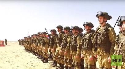 «Крылатая гвардия» на российско-египетских учениях