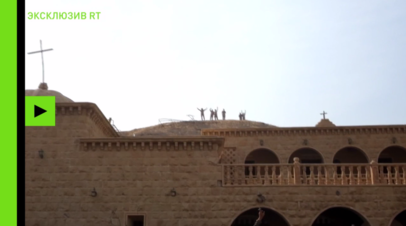 Террористы ИГ в Ираке прятались в тоннелях христианского монастыря