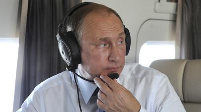 «Украины это не касается»: Кремль ответил Киеву о визите Путина в Крым