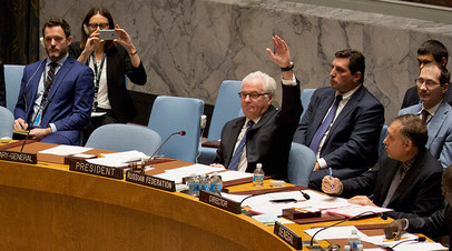 «Совбез — не театр»: Чуркин раскритиковал выступление замгенсека ООН в стихах