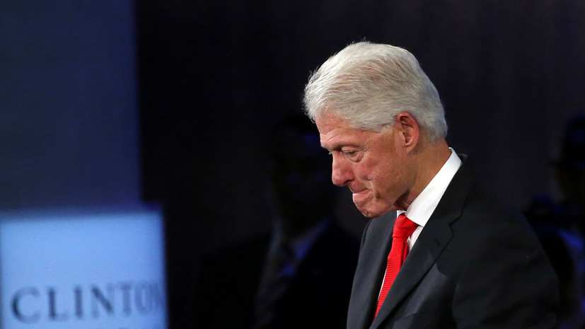 ФБР занеделю довыборов обнародовало данные расследования против Билла Клинтона
