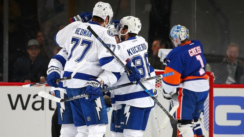 2 + 2: Кучеров набрал четыре очка в матче НХЛ