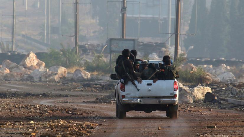 Провал наступления: боевики понесли крупные потери в Алеппо