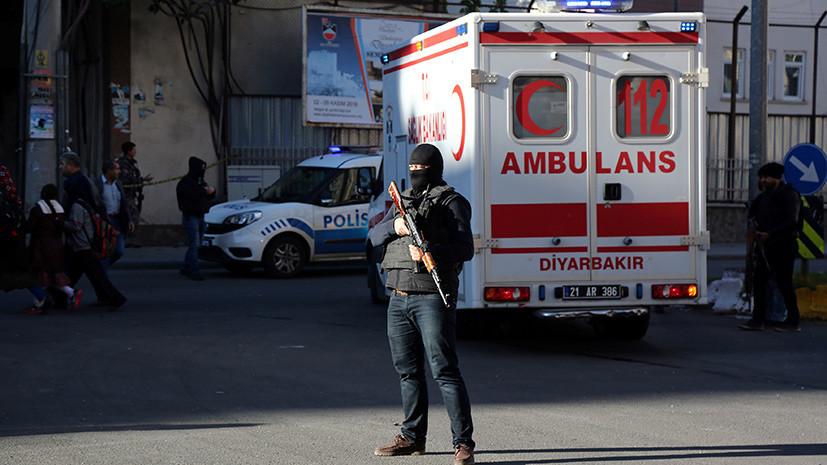 Диярбакыр под ударом: взрыв в турецком городе после ареста лидеров курдской партии