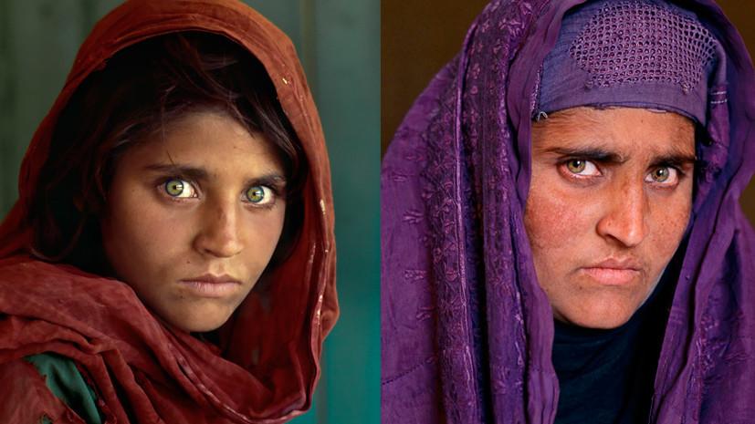 Возвращение Моны Лизы: афганку с легендарной обложки NatGeo депортируют из Пакистана