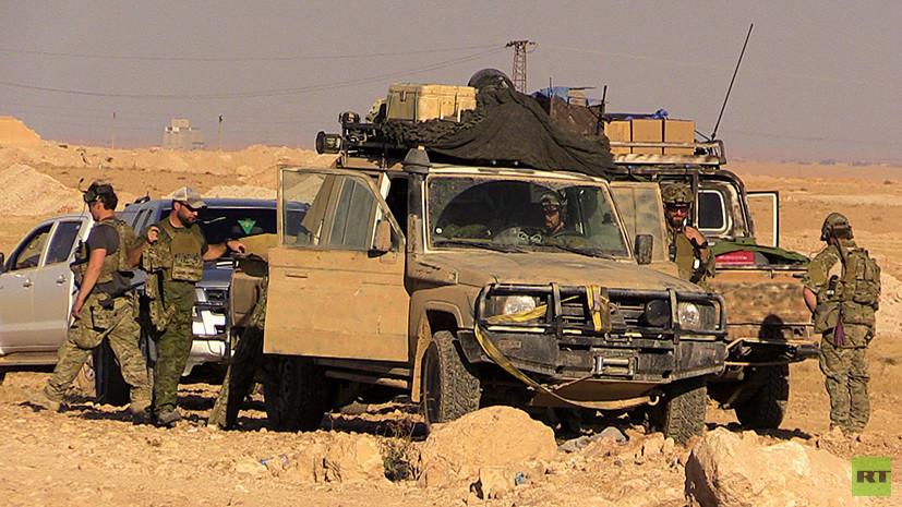 Курс на Ракку: RT заснял американских военных на севере от «столицы ИГ»