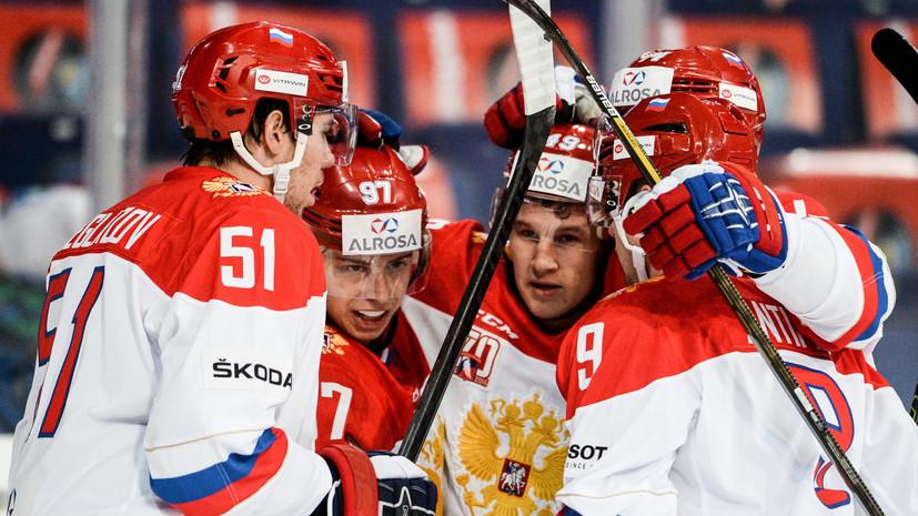«Красную машину» не остановить: Сборная России по хоккею выиграла Кубок Карьяла