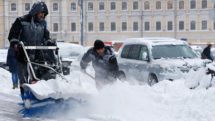 Замело, как в 41-м: на Москву обрушился мощный снегопад