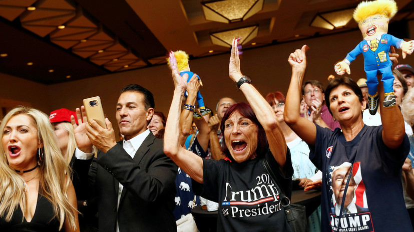 «Звучная пощёчина либералам»: реакция соцсетей на победу Трампа