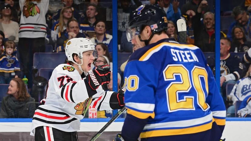 Передача, драка, гол: лучший новичок прошлого сезона НХЛ Панарин обрёл новый рецепт успеха