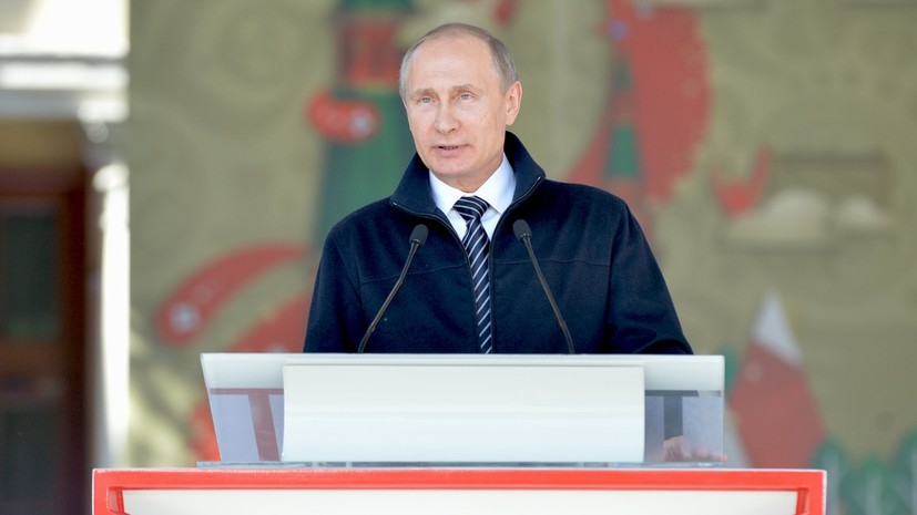 Путин— Миронову: Ярославская область— очень многообещающий регион