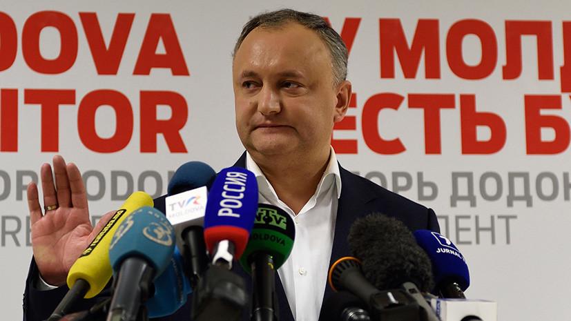 Визит в Москву, нейтралитет и борьба с олигархами: что обещает новый глава Молдавии Додон
