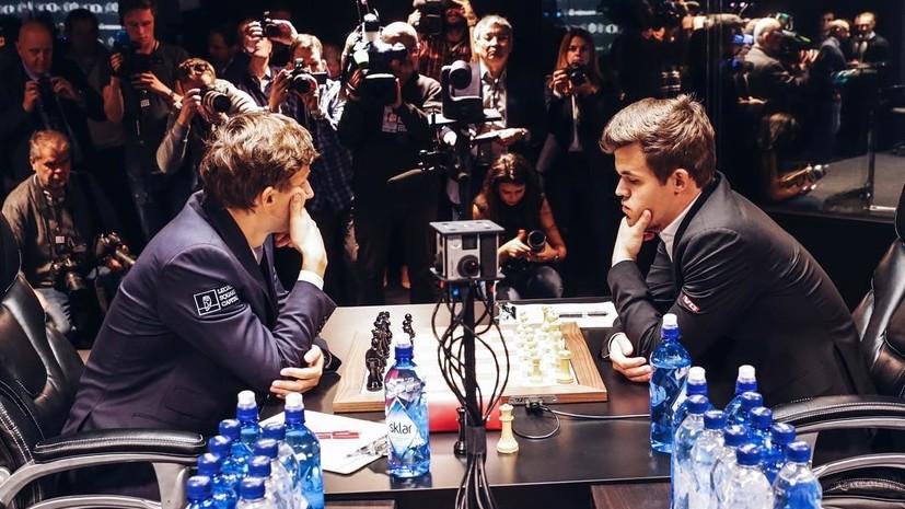 Ничья сродни победе: Карякин устоял в третьей партии с Карлсеном за шахматную корону