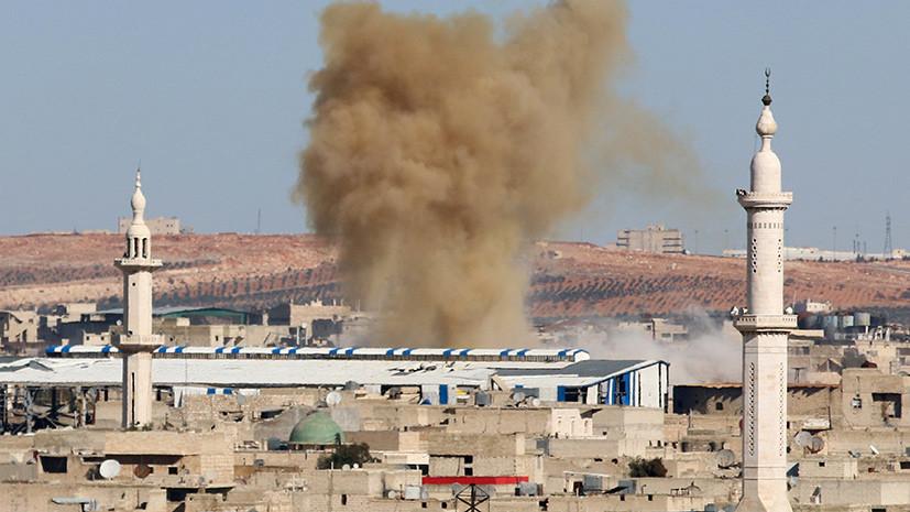 В Алеппо боевики открыли пулемётный огонь по мирным жителям