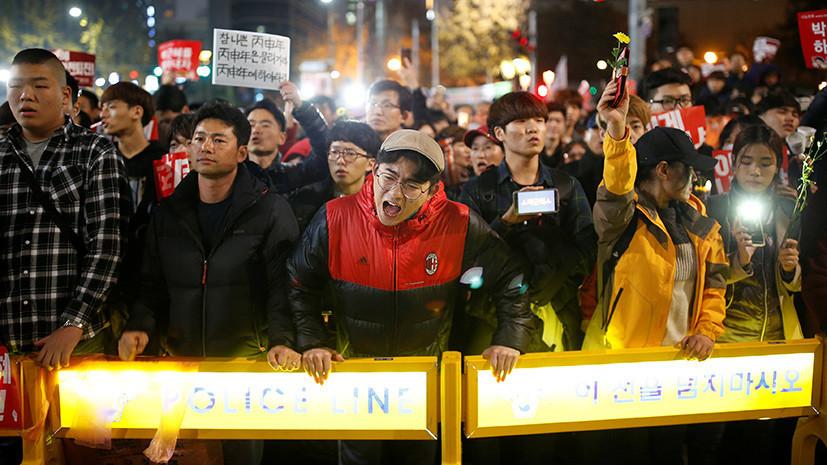 «Дочь Распутина» и импичмент: почему в Южной Корее требуют отставки президента