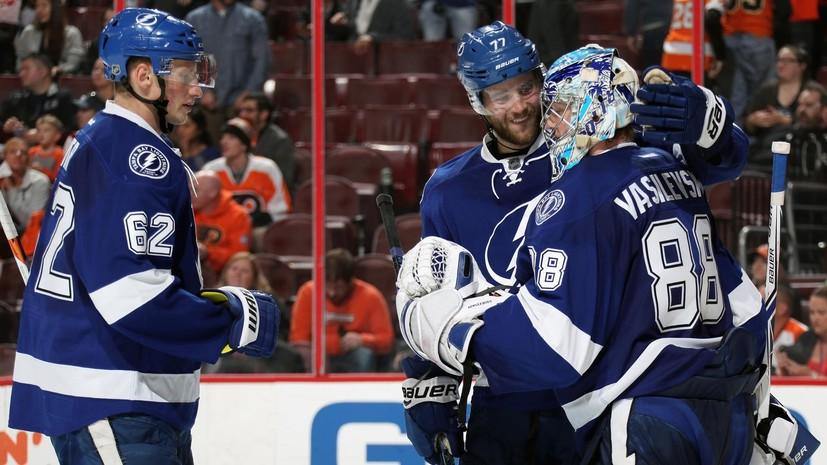 Здоровый Радулов, «сухой» Василевский: двое россиян — первые звёзды матчей в НХЛ