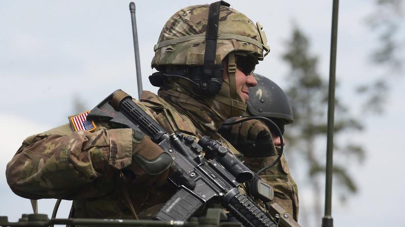 «Железный меч»: тысячи военных НАТО тренируются на военных полигонах в Литве