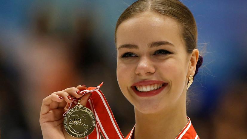Женский квартет в Марселе: ещё две россиянки вышли в финал Гран-при по фигурному катанию