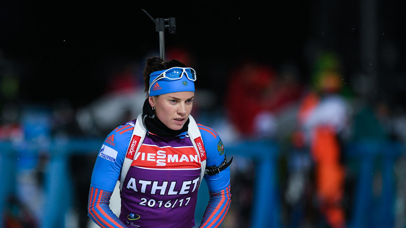 Стрельба вслепую: российские биатлонисты провалили синглмикст на первом этапе Кубка мира