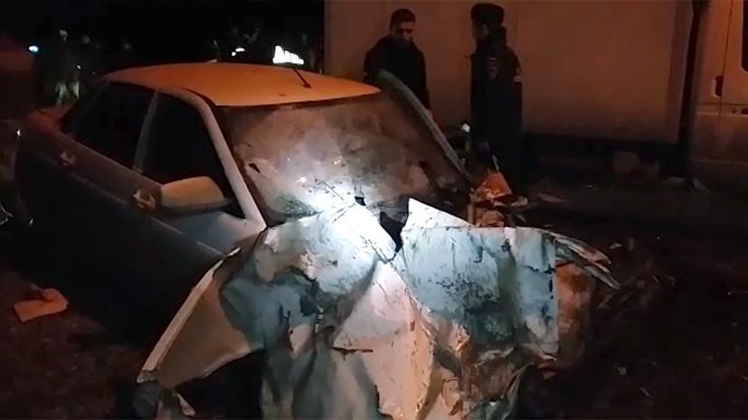 «Это сравнимо с терактом»: СК ведёт расследование крупного ДТП в Чечне