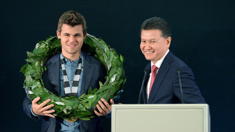 «На тай-брейке нет фаворита»: Илюмжинов о предстоящей развязке матча Карлсен — Карякин