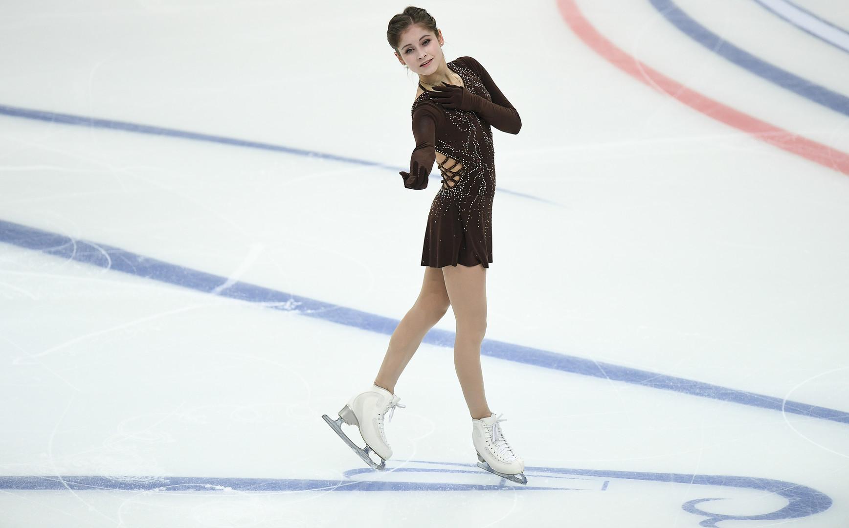 Лучший прокат за два года: Липницкая не допустила ошибок, но осталась только третьей