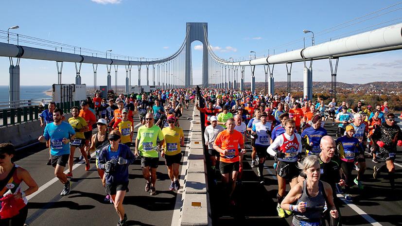 «Я брошу монетку и решу»: участники марафона в Нью-Йорке рассказали, за кого проголосуют