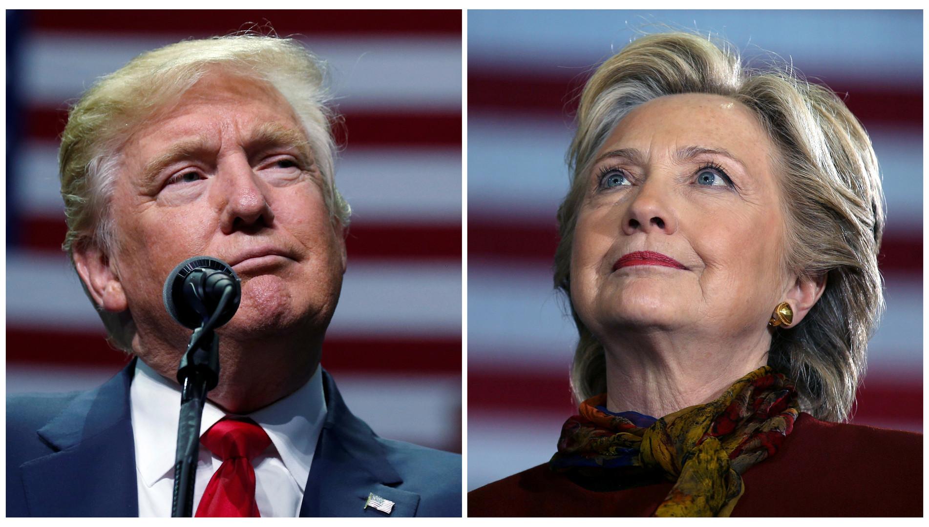 Тест RT: Клинтон или Трамп?