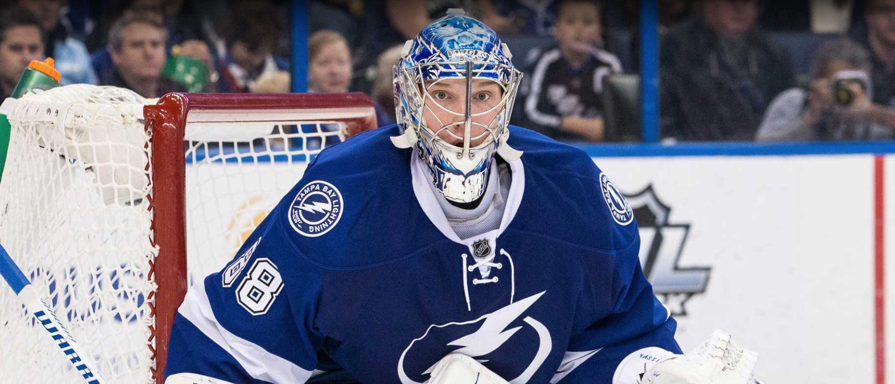 Вратарь, которого не ждали: как россиянин стал героем дня в НХЛ