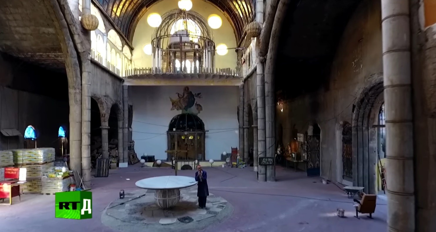 Блаженный из собора: фильм RTД о рукотворном храме испанского мастера