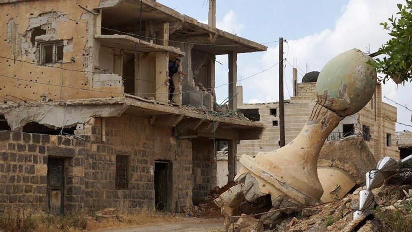 Руины засыпят долларами: США выделят $900 тысяч на восстановление памятников Сирии и Ирака