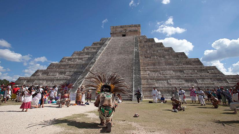«Матрёшка» древних майя: в храме Кукулькана нашли вторую внутреннюю пирамиду