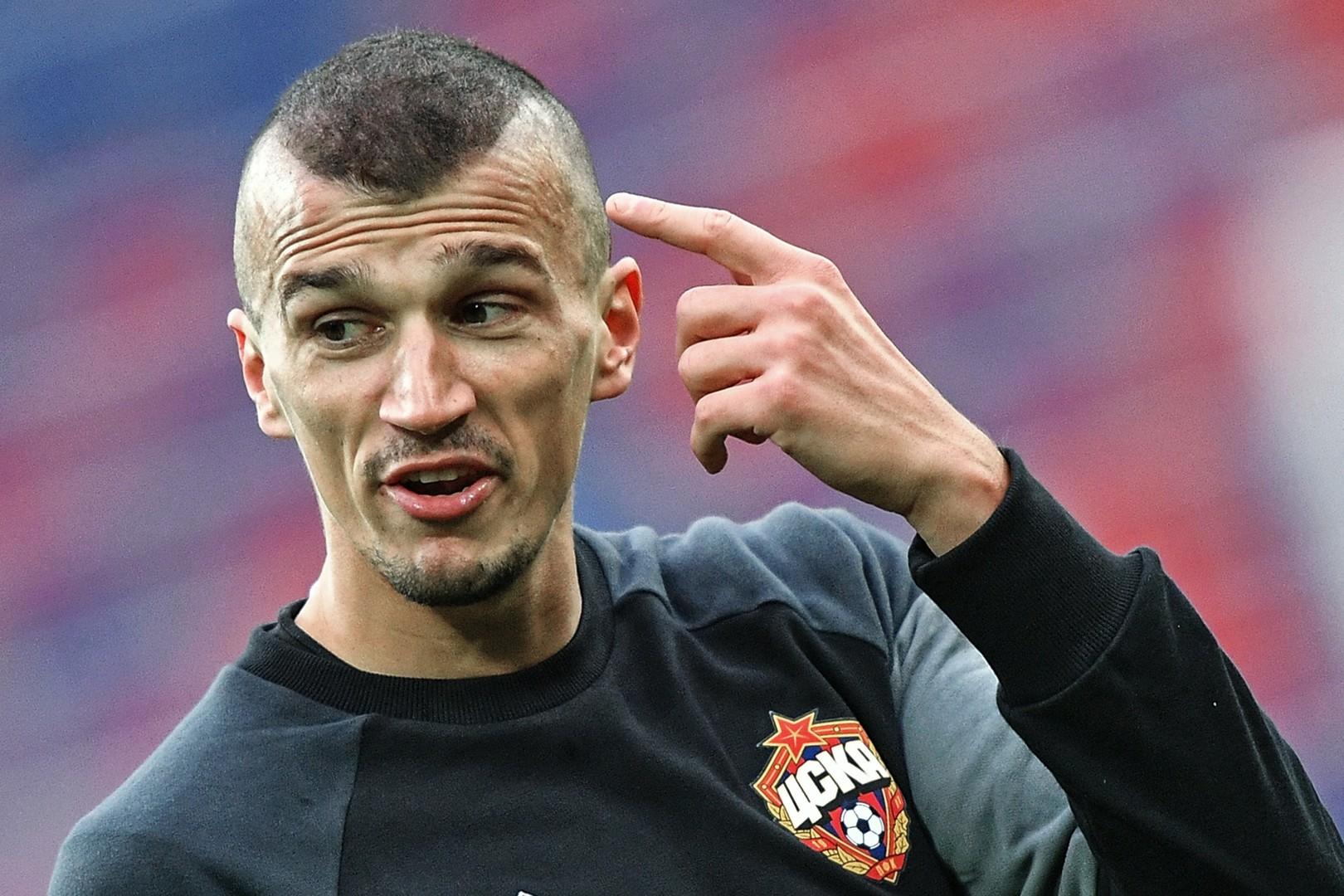 По уши в снегу: игрока ЦСКА Ерёменко дисквалифицировали на два года за наркотики