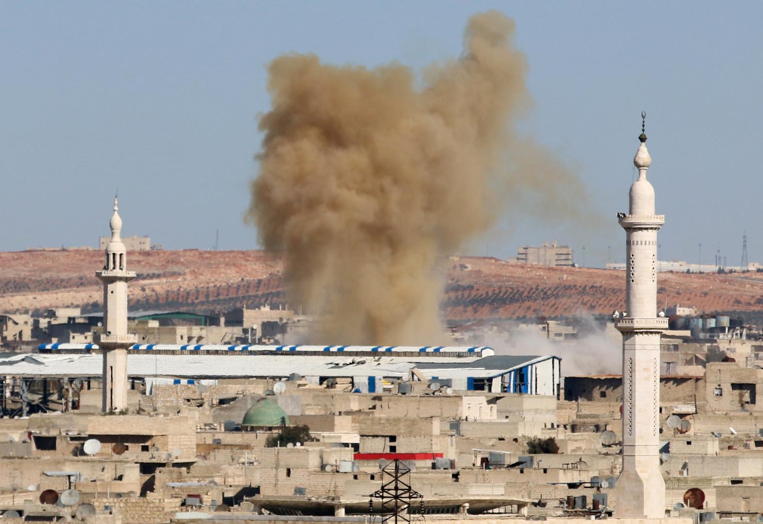 Геополитическая химия: газовые атаки в Алеппо не заинтересовали международных экспертов