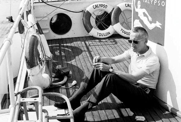 Жак-Ив Кусто - биография, личная жизнь, фото, изобретения, причина ... | 406x600