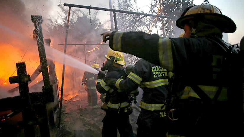 Преступный огонь: причиной мощных лесных пожаров в Израиле могут быть поджоги