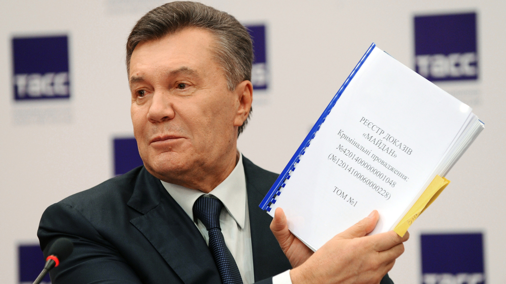 «В учебниках напишут правду»: Янукович рассказал о «майдане», Донбассе и Крыме