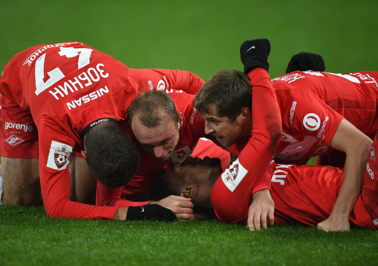 «Терек» переплыт: «Спартак» седьмой раз в сезоне выиграл со счётом 1:0