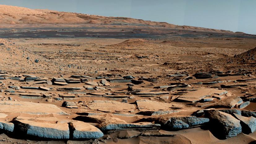 Невечная мерзлота: под поверхностью Марса обнаружены запасы замёрзшей воды