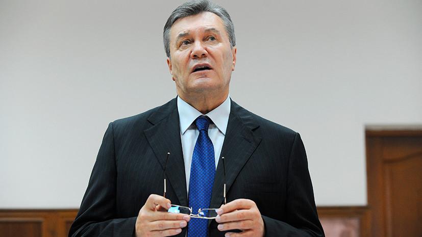 «Лидеры «майдана» должны выступить в суде»: пресс-конференция Януковича по итогам допроса