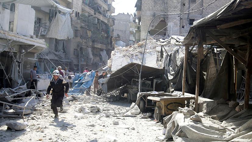 Восточный рубеж Алеппо: Дамаск освободил от боевиков 14 кварталов города