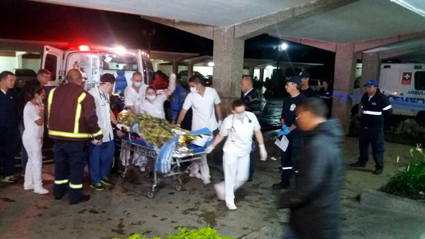Власти подтвердили гибель 75 человек при крушении самолёта в Колумбии