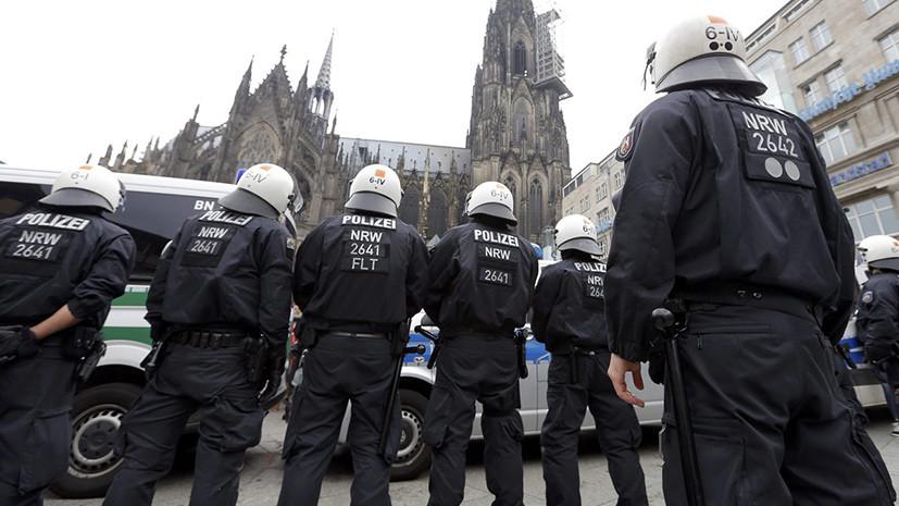 Вертолёты, дроны и переодетые полицейские: как в Кёльне планируют защищать женщин города