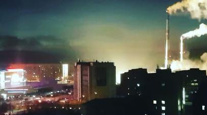 Вспышки в Мурманске: на трансформаторной подстанции города произошла крупная авария
