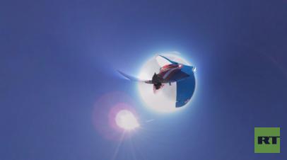 «Высший пилотаж» в стратосфере: уникальная панорамная съёмка с борта МиГ-29