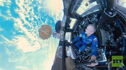 «Космос 360»: первое панорамное путешествие по МКС с космонавтом Андреем Борисенко