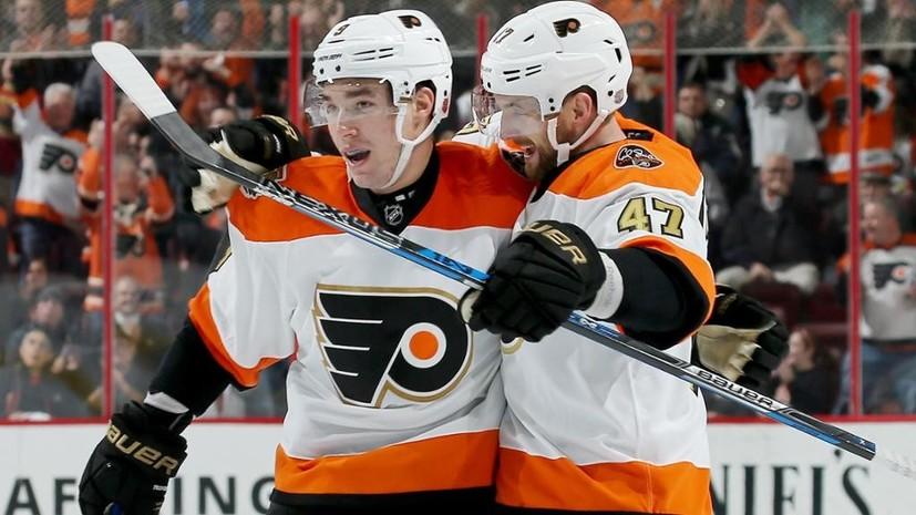 Ударная смена Проворова: российский защитник оформил дубль за 31 секунду в матче НХЛ