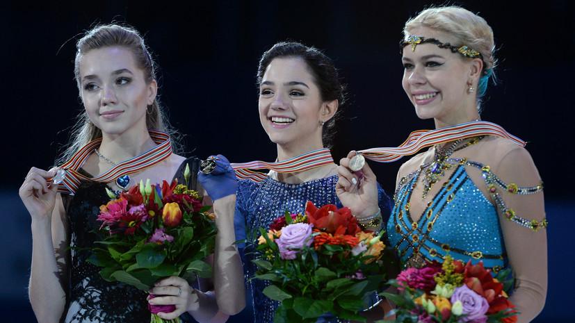 На лезвии конька: квартет россиянок разыграет титул в финале Гран-при по фигурному катанию