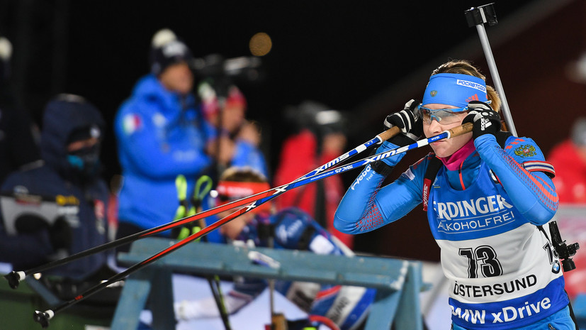Без шансов: россиянки остались без медалей в спринте на Кубке мира по биатлону